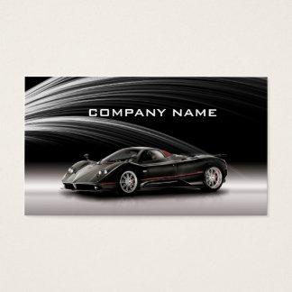 Cartão De Visitas Negócio automotriz