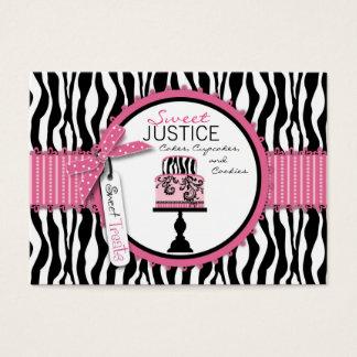 Cartão De Visitas Negócio chique Card_SJ do boutique