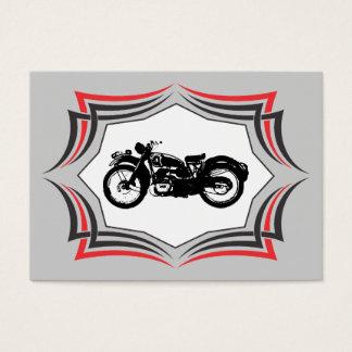 Cartão De Visitas Negócio da motocicleta