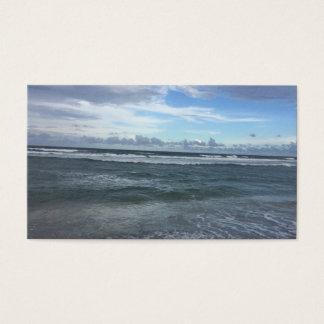 Cartão De Visitas Negócio da praia