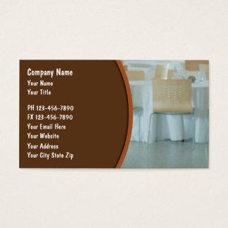 Cartão De Visitas Negócio de restauração Cards_2