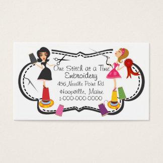 Cartão De Visitas Negócio do bordado