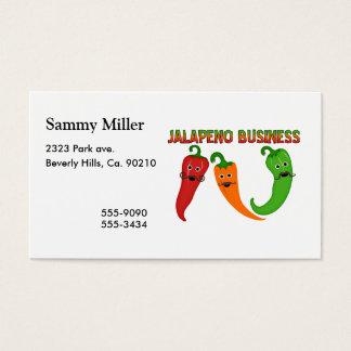 Cartão De Visitas Negócio do Jalapeno