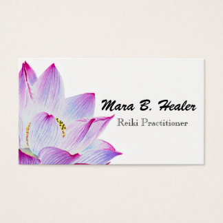 Cartão De Visitas Negócio enchido luz do mestre ou do médico de