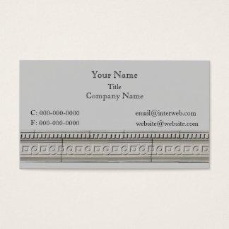 Cartão De Visitas Negócio feito sob encomenda de pedra