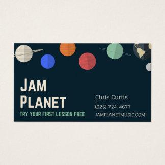 Cartão De Visitas negócios para o wiz do doce