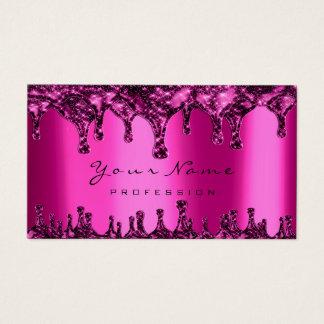 Cartão De Visitas Néon do fúcsia do rosa da depilação de Epilation