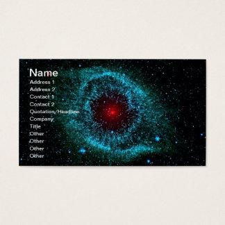 Cartão De Visitas NGC 7293 a NASA da nebulosa da hélice