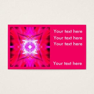 Cartão De Visitas No rosa