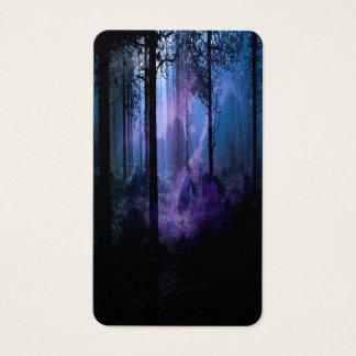 Cartão De Visitas Noite místico