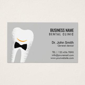 Cartão De Visitas Nomeação do Dr. Sorriso Dentista Dental Clínica
