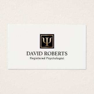 Cartão De Visitas Nomeação do profissional do conselheiro do