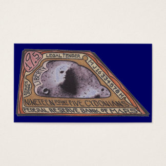 Cartão De Visitas Nota do ponto cinco CYDONIANS de Marciano $