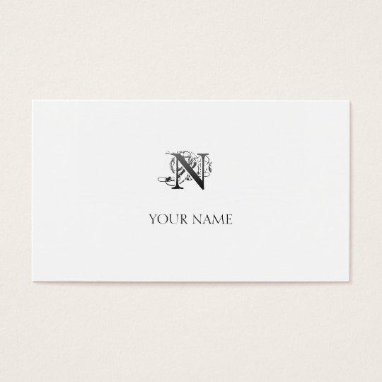 Cartão De Visitas Nouveau