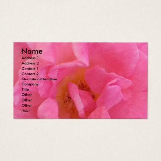 Cartão De Visitas NOVINO - Pétala cor-de-rosa sensual 3