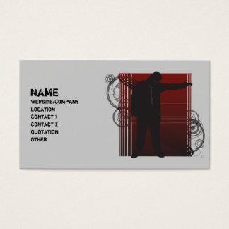 Cartão De Visitas O atirador