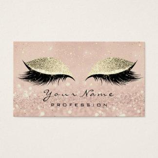 Cartão De Visitas O brilho dos chicotes dos olhos da sobrancelha da