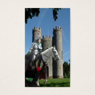 Cartão De Visitas O cavaleiro do castelo de Blaise