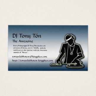 Cartão De Visitas O clube de Tony