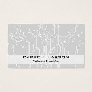 Cartão De Visitas O conselho de circuito