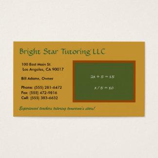 Cartão De Visitas O conselho verde GL T/T