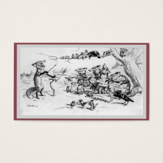 Cartão De Visitas O coro - frente e verso