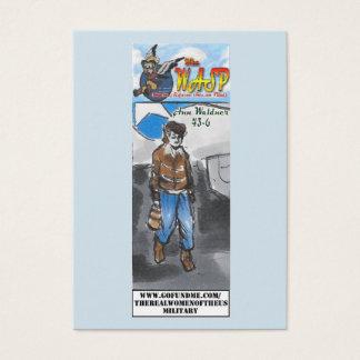 Cartão De Visitas O cromo de colecção de Ann Waldner da VESPA