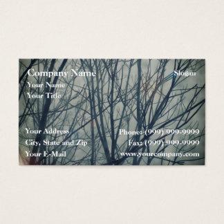 Cartão De Visitas O inverno está vindo