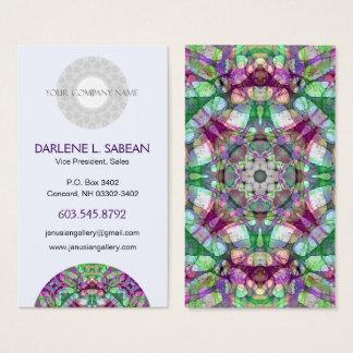 """Cartão De Visitas O """"Lilac desportivo sonha"""" o caleidoscópio da"""