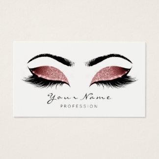 Cartão De Visitas O maquilhador do brilho do feijão vermelho