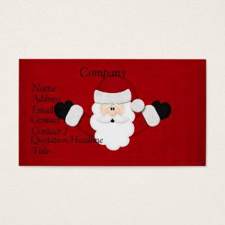 Cartão De Visitas O papai noel Calendar 2012