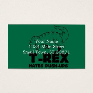 Cartão De Visitas o rex de t deia impulso-UPS
