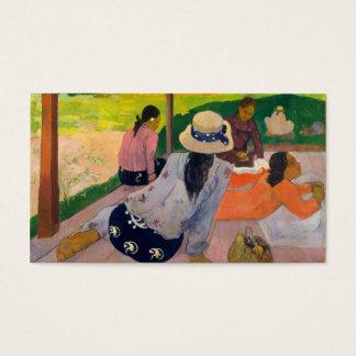 Cartão De Visitas O Siesta - Paul Gauguin