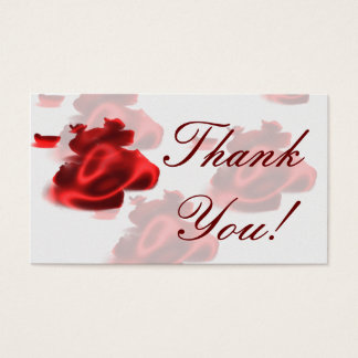 Cartão De Visitas Obrigado!