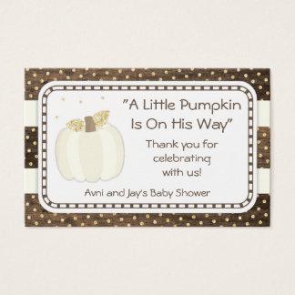Cartão De Visitas Obrigado que você etiqueta, ouro de madeira do chá