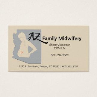 Cartão De Visitas Obstetrícia da família de AZ