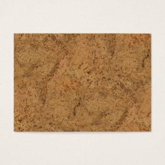Cartão De Visitas Olhar de madeira da grão do latido natural da