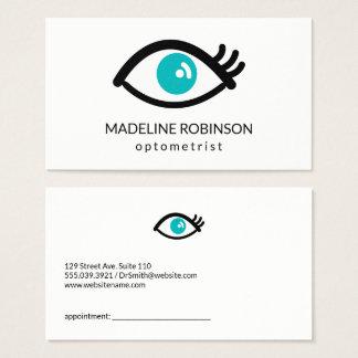 Cartão De Visitas Olhos