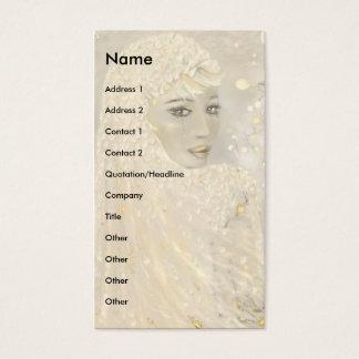 Cartão De Visitas Ophelia!