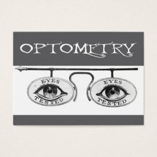Cartão De Visitas Optometria nostálgica