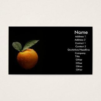Cartão De Visitas Orgânico