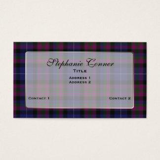 Cartão De Visitas Orgulho feito sob encomenda da xadrez colorida de