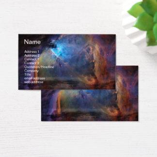 Cartão De Visitas Orion banhou-se no azul