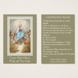 Cartão De Visitas Os apóstolos da Virgem Maria do Espírito Santo da