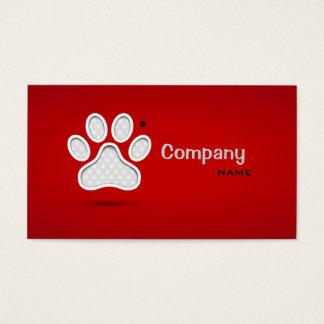 Cartão De Visitas Os primeiros socorros do veterinário Pets o doutor