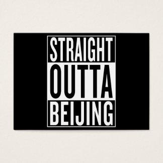 Cartão De Visitas outta reto Beijing