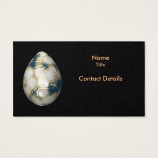 Cartão De Visitas Ovo de rachamento