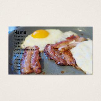 Cartão De Visitas Ovos fritos