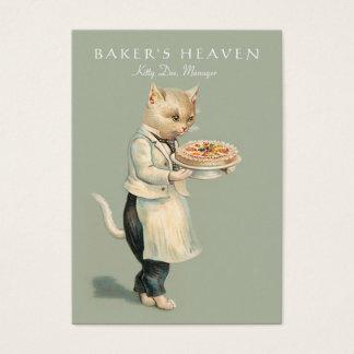 Cartão De Visitas Padaria, cozinheiro chefe de pastelaria, padeiro,