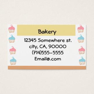 Cartão De Visitas Padaria customizável
